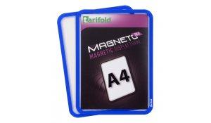 Magneto Solo - magnetický rámeček A4, modrý - 4 ks