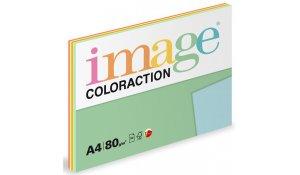 Xerografický papír Coloration, A4, 80g, 5x20 listů