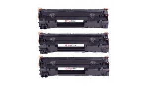 HP CE285A - kompatibilní multibalení 3ks tonerů 85A, Topprint