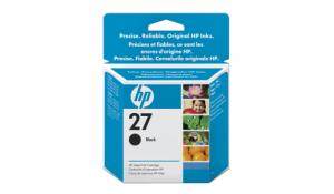 HP no. 27 - černá ink. kazeta, C8727A
