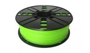GEMBIRD Struna pro 3D tisk, flexibilní, 1,75mm,1kg, zelená