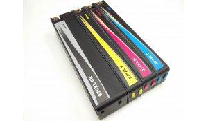 HP 970XL BK + HP 971XL CMY - renovovaná sada tiskových kazet