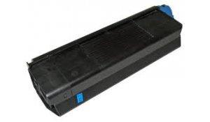 OKI 42127407 - kompatibilní toner C5100, C5200, C5300, C5400 modrá, na 5.000stran