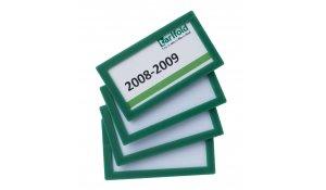 Display Frame samolepící rámečky 80 x 45 mm, 20ks, zelená