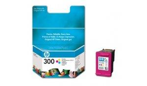 HP 300 - 3 barevná inkoustová kazeta, CC643EE