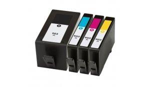HP 903XL - kompatibilní sada CMYK barev