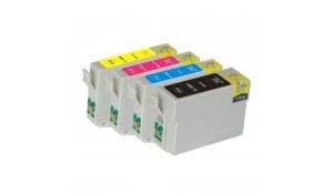 Epson T1001, T1002, T1003, T1004 - kompatibilní sada všech barev cartridge