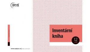 Inventární kniha A4