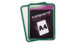 Magneto Solo - magnetický rámeček A4, zelený - 4 ks
