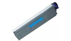 OKI 44643003 - renovovaná modrá tisková kazeta C801, C821, na 7.000stran