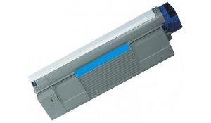 OKI 44059107 - kompatibilní modrá tisková kazeta C810, C830, na 8.000stran