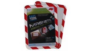 Magneto kapsa A4 bezpečnostní samolepící, 4ks