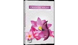Vonná čajová svíčka Orientální noc 6 ks v krabičce
