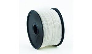 GEMBIRD Struna pro 3D tisk, PLA, 1,75mm, 1kg, 330m, bílá