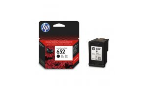 HP 652 černá ink kazeta, F6V25AE