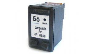 HP C6656A - renovovaná cartridge s hp 56 black