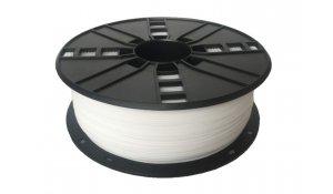 GEMBIRD Struna pro 3D tisk,HIPS,1,75mm,1Kg,bílá