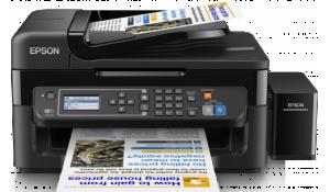 EPSON L565, A4, 5760x1,440dpi,33/15 ppm, USB +  3 barevné lahvičky zdarma