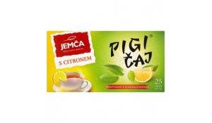 Jemča Pigi černý čaj s citronem porcovaný 25 x 1,5g