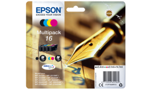 Epson16 Series 'Pen and Crossword' multipack
