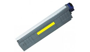 OKI 44643001 - renovovaná žlutá tisková kazeta C801, C821, na 7.000stran