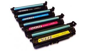 HP CE400X, CE401A, CE402A, CE403A - kompatibilní sada tonerů 507