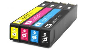 HP 913 - renovovaná sada barev CMYK
