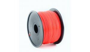 GEMBIRD Struna pro 3D tisk, ABS, 1,75mm, 1kg, 400m, červená