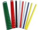 Kroužkový hřbet bílý plast pro vazbu 8 mm, 21-40 listů, 100ks, obr. 2